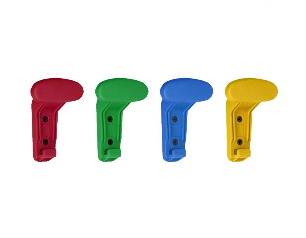 equipamiento escuelas infantiles colores perchas