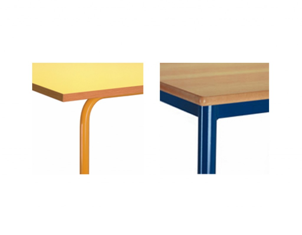 equipamiento escuelas infantiles tubos de mesas